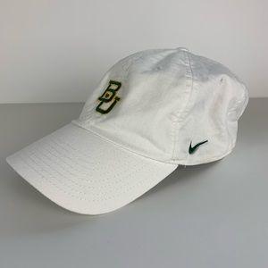NIKE Heritage86 Dri Fit Baylor Bear Hat White